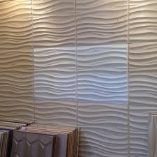 leather 3d textured wall covering pu material panels wave wall