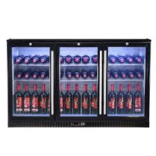 54 u201d 3 door back bar fridge shop kingsbottle today