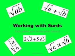 maths gcse foundation and higher working with surds including