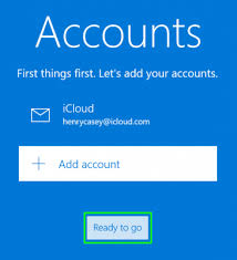 set up icloud account on pc how to set up icloud email and calendars on windows 10