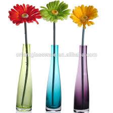 Wholesale Glass Flower Vases Wholesale Handmade Glass Flower Bottle Glass Flower Vase Buy