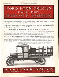 Vintage Ford Truck Advertisements - h h babcock company