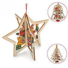 shop 2016 3d tree ornament decor bauble
