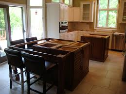 show me your counter overhang for seating