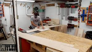 miter saw station part 2 drawers fence dust collection