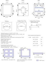guitar speaker cabinet design looking for bass guitar speaker box plans money source