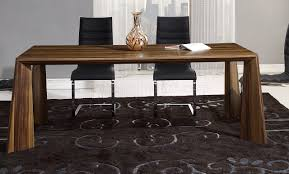 dining table in walnut by global w options