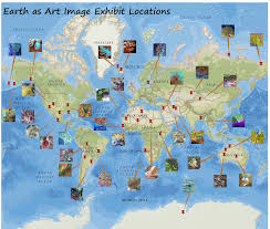 Arctic Circle Map Earth As Art Exhibit U2013 February 2 26 2017 U2013 Iowaview