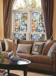 home theater decorations decorations interesting stained glass window film craftsman