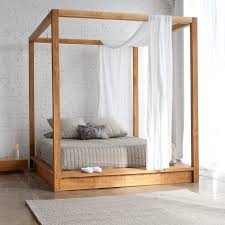 beautiful diy canopy beds ideas how to build a bed gallery pvc