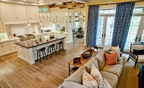 kitchen living room ideas small open plan kitchen and living room