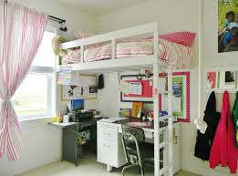 Girls Loft Bed With Desk Simple Girls Loft Beds With Desk Babytimeexpo Furniture