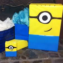 minion wrapping paper best 25 minion gifts ideas on pillow box template