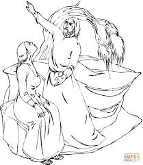 john the baptist coloring page free printable coloring pages