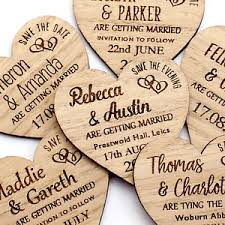 save the date magnets cheap wedding save the date magnets personalised wooden oak heart fridge