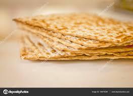unleavened bread for passover passover unleavened bread matzah stock photo romayanu
