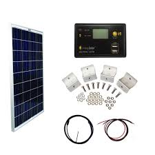 home depot solar grape solar 100 watt basic grid polycrystalline silicon panel