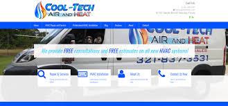 cool tech heat u0026 air beachside web solutions