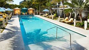 Outdoor Swimming Pool by The Confidante Miami Beach Photo Gallery Videos Virtual Tours