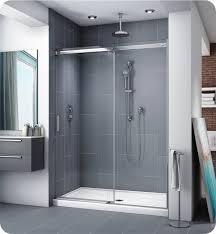 40 Shower Door Fleurco Na60 25 40 Apollo In Line 60 Sliding Door And Fixed