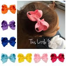 ribbon hair clip hair accessories baby girl bow hair hairpins for