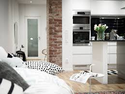 kitchen style modern black and white theme kitchen design eat in