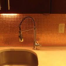 look a real penny tile backsplash kitchn