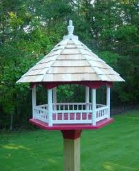 Free Wooden Bird Table Plans by