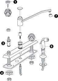moen kitchen faucets repair moen single handle kitchen faucet repair diagram luxury moen