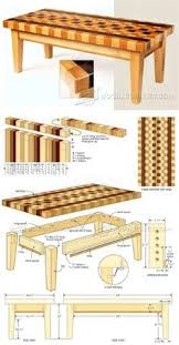 Woodworking Plans Coffee Tables by Shaker Coffee Table Plans Furniture Plans And Projects