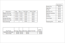 28 payroll templates free excel pdf word formats creative