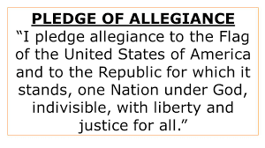 I Pledge Of Allegiance To The Flag Career Technical Center