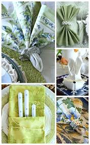 easter napkins creative ideas for setting the best easter table stonegable