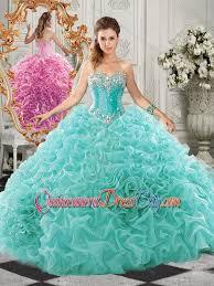 unique quinceanera dresses classical big beaded and ruffled unique quinceanera dress in