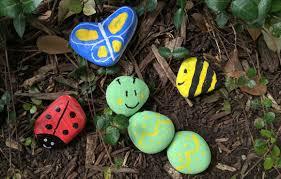 Craft Ideas For The Garden Craft Ideas Garden Rock Decor Activekids