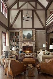cottage interior 47 cozy ways to decorate your home for fall rustic room room