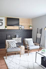8 stunning black fireplace makeovers you can copy