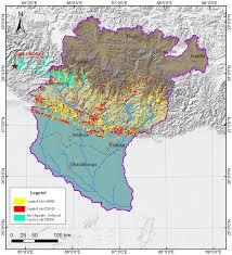 Himalayas On World Map by Characteristics Of Landslide In Koshi River Basin Central Himalaya