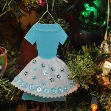 glitter dress ornament a free downloadable pattern o cake