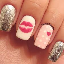 valentine nails design 2014 how you can do it at home pictures