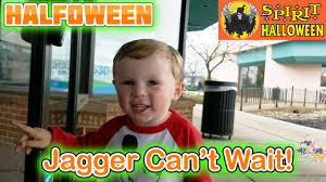 my spirit halloween props jagger can u0027t wait for spirit halloween to open happy halfoween