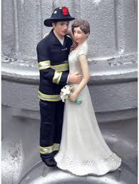 fireman cake topper firefighters personalized wedding cake toppers
