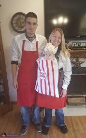 Popcorn Halloween Costume Popcorn Vendors Family Halloween Costume