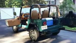 old jeep wrangler 1994 jeep wrangler restored youtube
