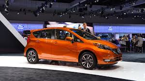 nissan orange 2017 nissan versa note comes to l a with mild refresh
