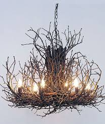 Twig Light Fixtures Appalachian Branchelier Twig Chandelier Bulbs Chandeliers And 30th