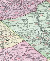 map of berks county pa berks county pennsylvania 1911 map by rand mcnally reading pa
