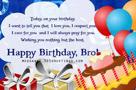 A Happy Birthday Wish Birthday Wishes For Brother 365greetings Com