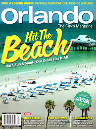 june 2015 hit the beach orlando magazine cover design