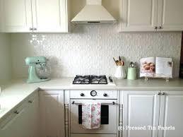 Kitchen Tin Backsplash Pressed Tin Backsplash Rimilvets Org